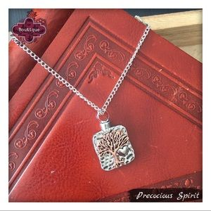Jewelry - Tree of Life ash holder memorial keepsake necklace
